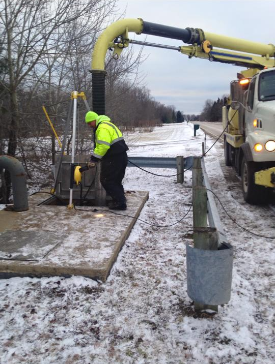 Sanitary Sewer Cleaning